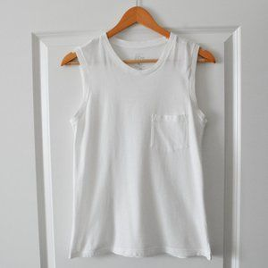 J. Crew Garment-Dyed Muscle Tank (runs very large)